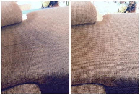 Upholstery Before And After by Before And After Pics A Team Carpet Clean