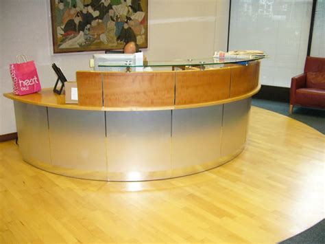 Used Office Reception Desk Used Reception Desks Furniture