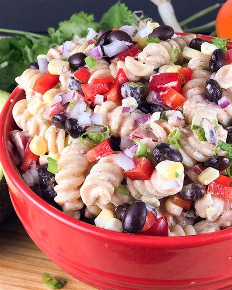 tex mex pasta salad tex mex pasta salad recipe