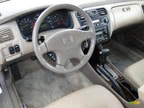 2002 Honda Accord Interior Ivory Interior 2002 Honda Accord Ex V6 Sedan Photo