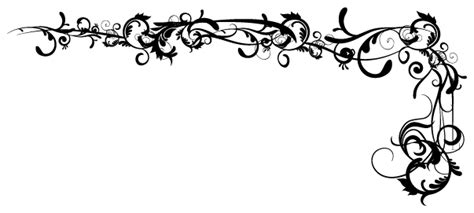 fancy pattern png elegance clipart fancy scroll pencil and in color