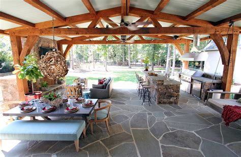 lucy  company incredible covered patio  natural