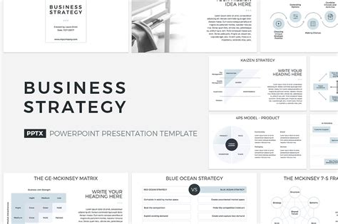 business plan powerpoint template by graphicshape graphicriver