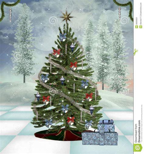 traditioneller weihnachtsbaum stockbild bild 26959501