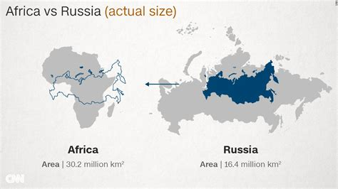 russia map size size of great africa new africa business news