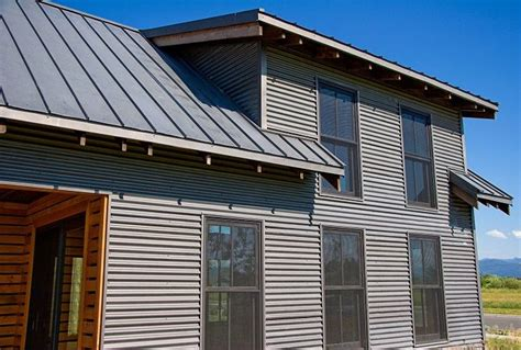 house with metal siding 16 best metal siding ideas images on pinterest metal
