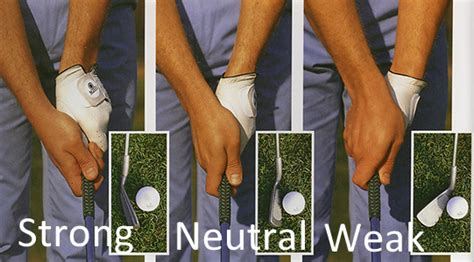 Golf Grip Strong Weak Or Neutral The Grateful Golfer
