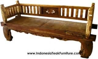 Daybed Jepara Teak Wood Furniture At The Galleria