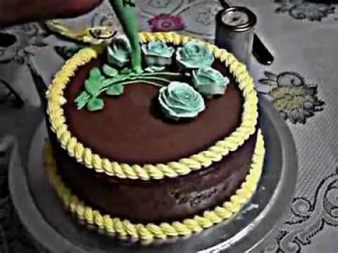fidio membuat kue ulang tahun menghias kue ulang tahun mawar youtube