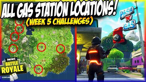 fortnite gas stations all gas station locations in fortnite fortnite week 5