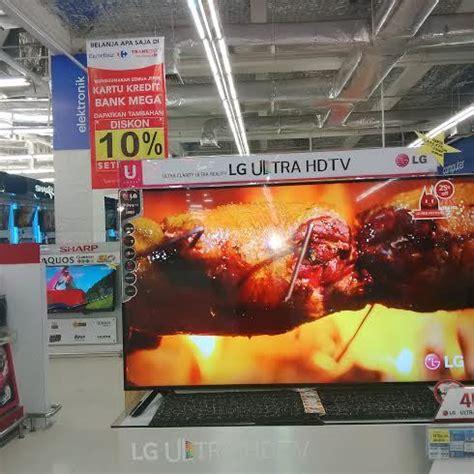 Tv Lcd Murah Di Carrefour tv ultra hd 60 inch harga miring rp 18 juta diburu di carrefour
