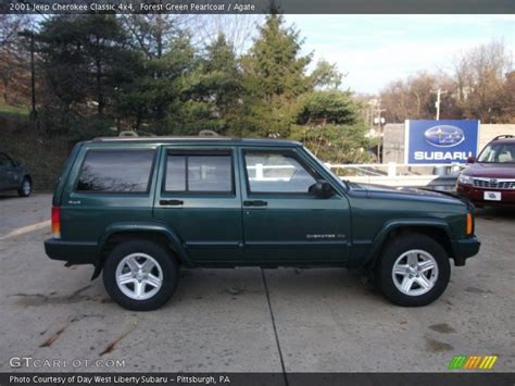 2001 Green Jeep 2001 Jeep Classic 4x4 In Forest Green Pearlcoat