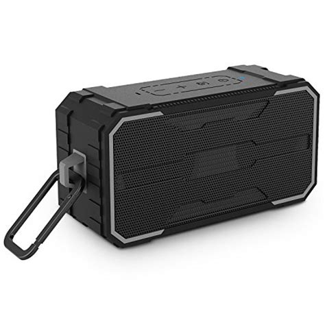 Outdoor Portable Bluetooth Speaker With Tf Card Slot And Nfc Kd 57 bluetooth speakers bestonly ipx7 waterproof with enhanced bass and stereo sound portable