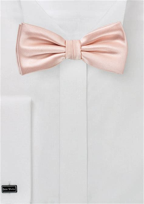 blush pink bow tie ties shop company ties