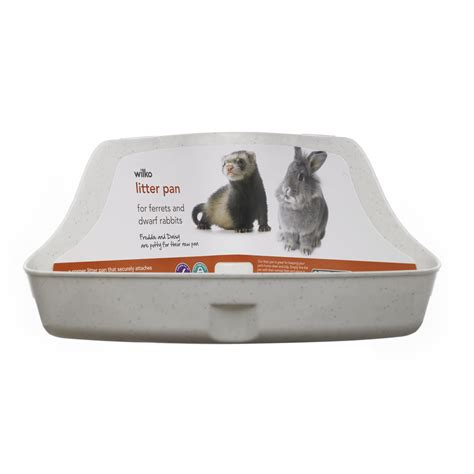 how to litter a small wilko small animal litter pan at wilko