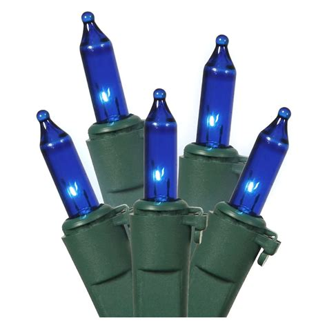 blue icicle lights green wire vickerman 10014 100 light 9 green wire blue icicle