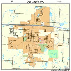 grove map oak grove missouri map 2953624