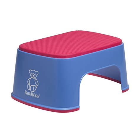 Baby Step Stool by Baby Bjorn Safe Step Stool Blue Baby N Toddler
