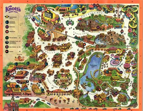 knotts berry farm map knott s berry farm explore los angeles