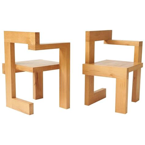 Gerrit Rietveld Chair by Gerrit Rietveld Steltman Chairs At 1stdibs