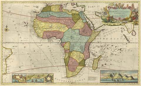 Old Map Of Africa by Alfa Img Showing Gt Ancient African Map