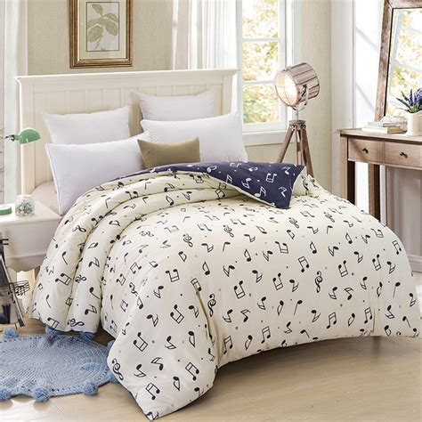 music bedding wongsbedding music symbol bedding set 100 cotton beige