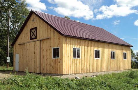 maine pole barns pole barn builders lester buildings