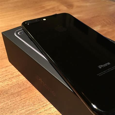 Iphone Z Black Actually Received My Iphone 7 Plus In Jet Black A Few Week Flickr