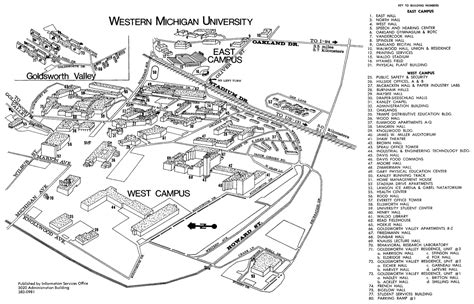 Western Michigan University Campus Map / astana-hotel.info