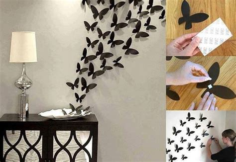 Paper Craft Decoration Home - diy butterfly wall diy crafts craft ideas easy crafts