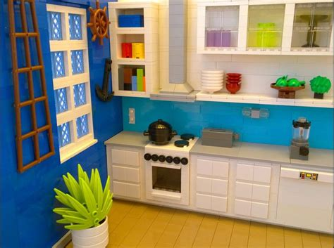 lego kitchen https flic kr p stshag lego marine kitchen see the