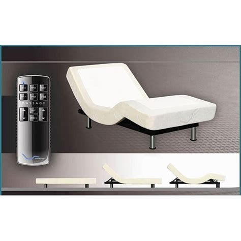 adjustable bed base only twin xl ergomotion e 600 adjustable bed base only no mattress adjustable beds all