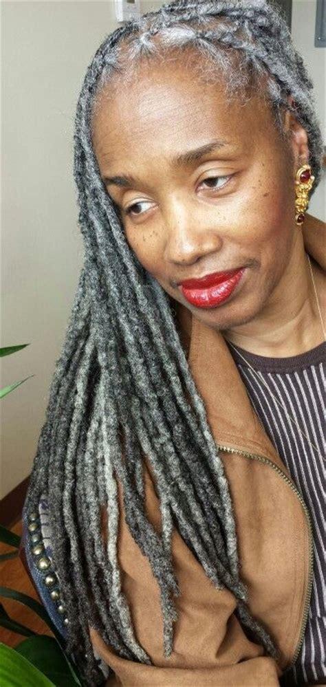 platinum dreads elegant 146 best black women gray silver white hair images on