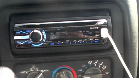 improving sound sony cdx gtui headunit review youtube