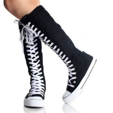 54 converse shoes knee high converse from