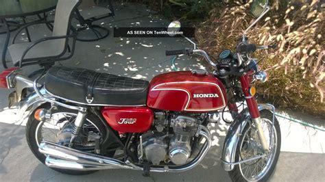 1973 honda cb350f inline four