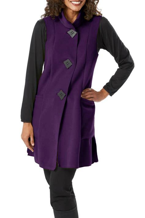 janska swing coat janska pocketed fleece vest from new jersey by ocean grove