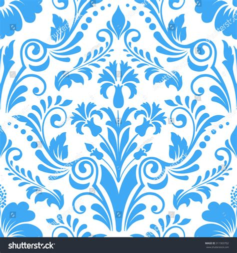 damask seamless pattern element vector damask seamless pattern element classical luxury