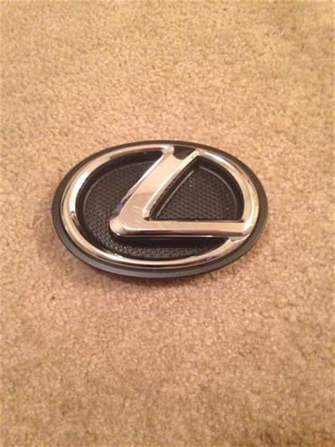 Emblem Grill Mobil Logo Lexus Krom find lexus ls460 460l radiator grille emblem motorcycle in willoughby ohio us for us 19 99
