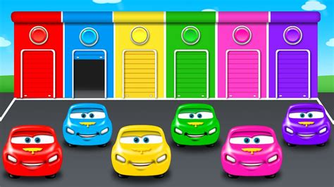 colorful cars colors for children to learn with color car colours