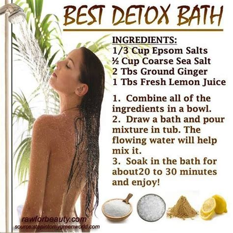 Best Detox Bath For Flu by 212 Best Detox Baths Images On Detox Baths