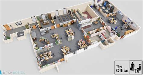 cinema 21 head office cool 3d tv show floor plans of your favorite tv offices
