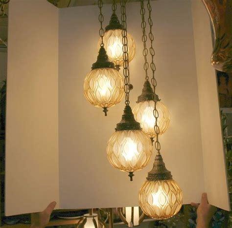 Swag Ceiling Lights by Vintage 5 Globe Swag L Light Ceiling 3 Way Adjustable