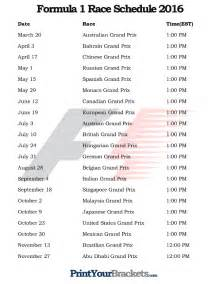 Formula 1 Schedule Search Results For Schedule For Erie County Farms 2015