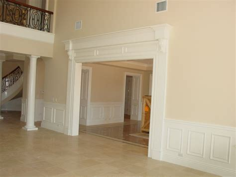 Custom Wainscoting by Custom Cielings By Smith Brothers Finish Carpentry Smith