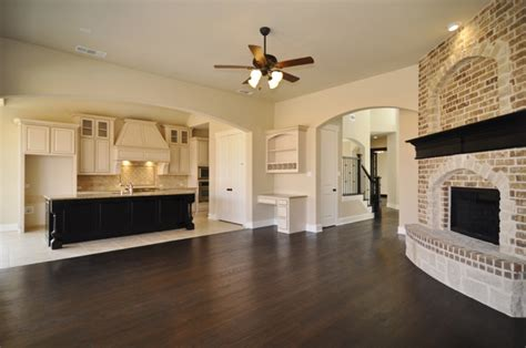 Kitchen Open To Family Room by Open Living Room Loving This Kitchen And Family Room Decor