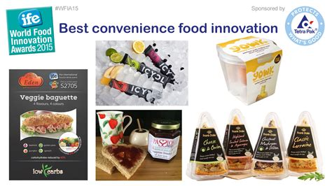 innovation cuisine ife wfia best convenience food innovation