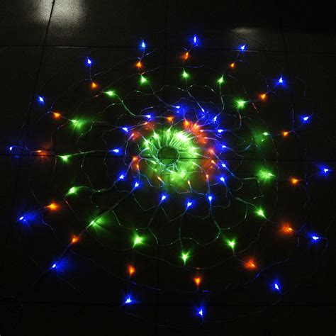 120 leds 110v 220v rgb spider led string net light