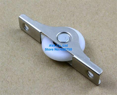 Sliding Wardrobe Wheels by Aliexpress Buy 10 Pieces Wardrobe Sliding Door Roller Cabinet Window Pulley Wheel