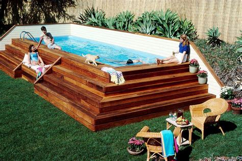 Backyard Pools Above Ground Small Above Ground Swimming Pools For Backyard Pools For Home